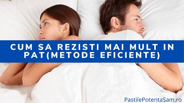 Cum sa rezisti mai mult in pat in timpul actului sexual - metode eficiente