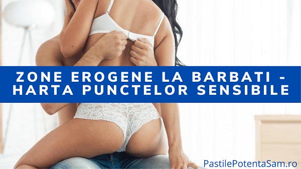 Zone erogene la barbati - harta punctelor sensibile