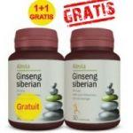 Ginseng Siberian, pachet promo, 30 capsule + 30 capsule gratis