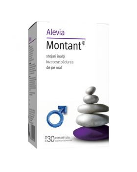Montant, 30 comprimate, Alevia