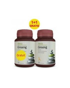 Ginseng capsule de Panax Ginseng, 40mg, 30 +30 gratis- Alevia