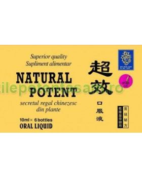 Natural Potent, 60 fiole, 10 cutii, transport inclus in pret