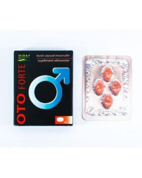 Oto Forte, 4 tablete, Potenta - Putere Masculin, BBM Medical