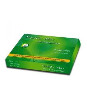 Virility Max, 4 pastile - pentru erectii puternice