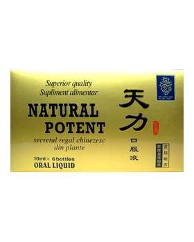 Natural Potent, 6 fiole - potenta