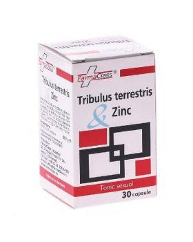 Tribulus Terrestris + Zinc, 30 capsule, Farma Class